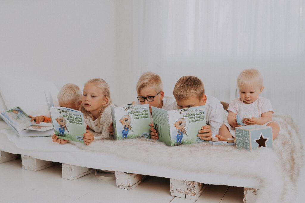 Raamat ja lapsed